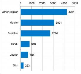 Figure 4.3 Population by Belief 2